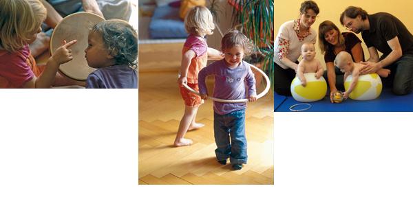 Praxis Movita Angebote für Eltern mit Kindern im Vorschulalter